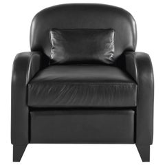 Gianfranco Ferré Home Cardiff Armchair in Leather