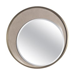 Gianfranco Ferré Carroll Mirror in Poplar and Frame in Metal