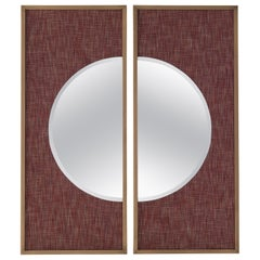 Gianfranco Ferré Home Connery_2 Mirror in Fabric
