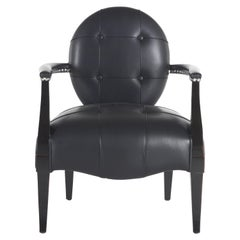 Gianfranco Ferré Home Dorothy Armchair in Leather