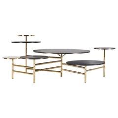 Gianfranco Ferré Home Doyle Center Table in Metal