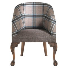 Gianfranco Ferré Home Edward Armchair in Iconic Winter Wool