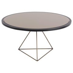 Gianfranco Ferré Home Eiffel Center Table in Metal and Wood
