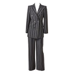 "Gianfranco Ferre ""Gangsta"" Style Pant Suit"