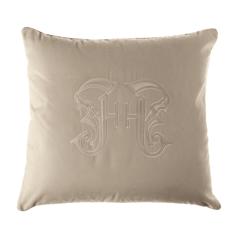 Gianfranco Ferré Home Gothic Beige Cushion in Velvet