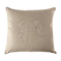 Gianfranco Ferré Gothic Beige Cushion in Velvet