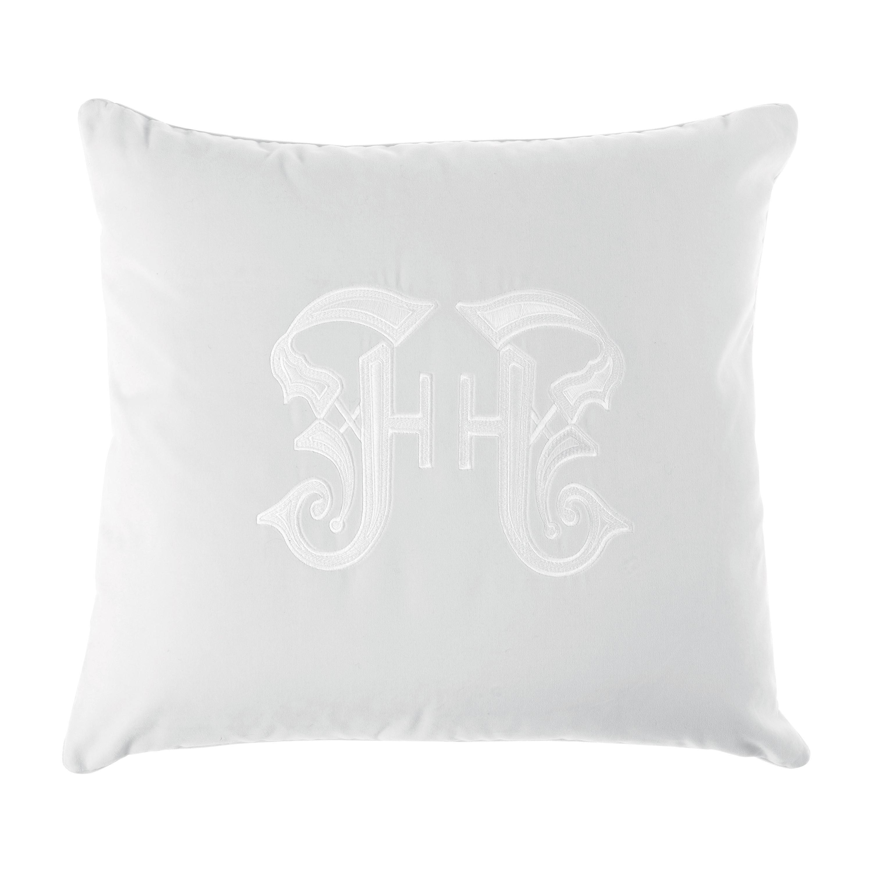 Gianfranco Ferré Home Gothic White Cushion in Velvet
