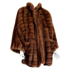 Gianfranco FERRÉ Haute Couture Wild Russian Barguzinsky Sable Fur Coat