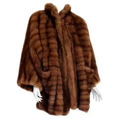 Gianfranco FERRÉ Haute Couture Wild Russian Barguzinsky Sable Fur Coat