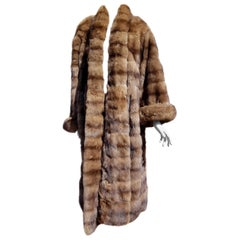 Gianfranco FERRÉ Haute Couture Wild Russian Whole Skins Barguzinsky Sable Fur