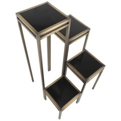 Gianfranco Ferre Hide Park Vase Holders in Metal with Bronze Finish
