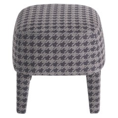 Gianfranco Ferré Home Mini Pouf in Printed Nabuk