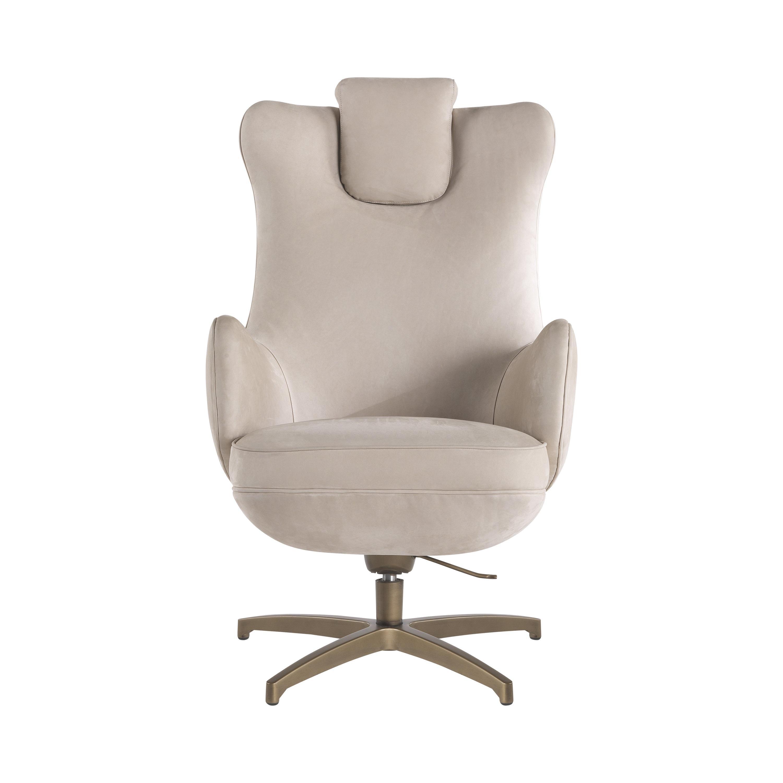 Gianfranco Ferré Home Kurgan_2 Armchair in Leather