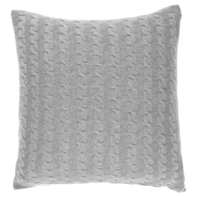 Gianfranco Ferré Lester Cushion in Cashmere For Sale