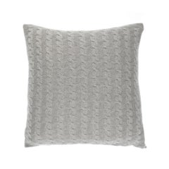 Gianfranco Ferré Lester Pillow in Beige Cashmere