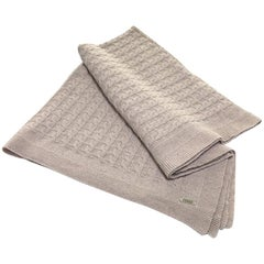 Gianfranco Ferré Lester Throw in Beige Cashmere