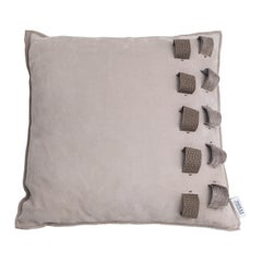 Gianfranco Ferré Home Loch Ness Cushion in Leather