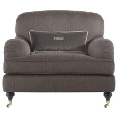 Gianfranco Ferré Home London Armchair in Fabric