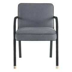 Gianfranco Ferré Home Loop Chair in Leather