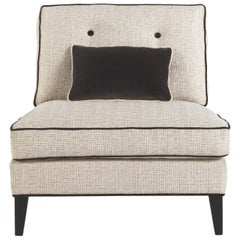 Gianfranco Ferré Melvin Armchair in Woven Upholstery