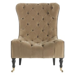 Gianfranco Ferre Miky Armchair in Fabric
