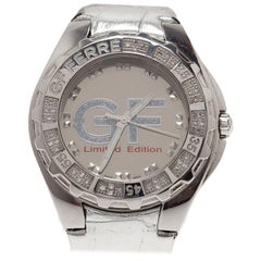 Gianfranco Ferre Mirror 9040J Limited Edition Diamond Women's Wristwatch 44MM