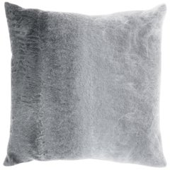 Gianfranco Ferré Precious Astrakan Cushion in Mohair and Velvet