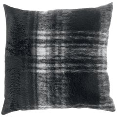 Gianfranco Ferré Precious Tartan Cushion in Mohair and Velvet