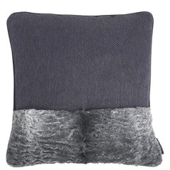 Gianfranco Ferré Home Precious_2 Cushion in Leather and Velvet