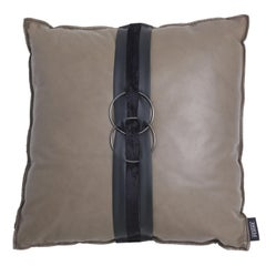 Gianfranco Ferré Home Ring_1 Cushion in Leather