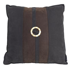 Gianfranco Ferré Home Ring_2 Cushion in Leather