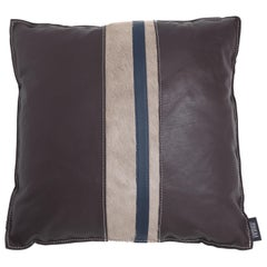 Gianfranco Ferré Home Road_3 Cushion with Leather Bands