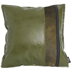 Gianfranco Ferré Home Road_5 Cushion with Leather Bands