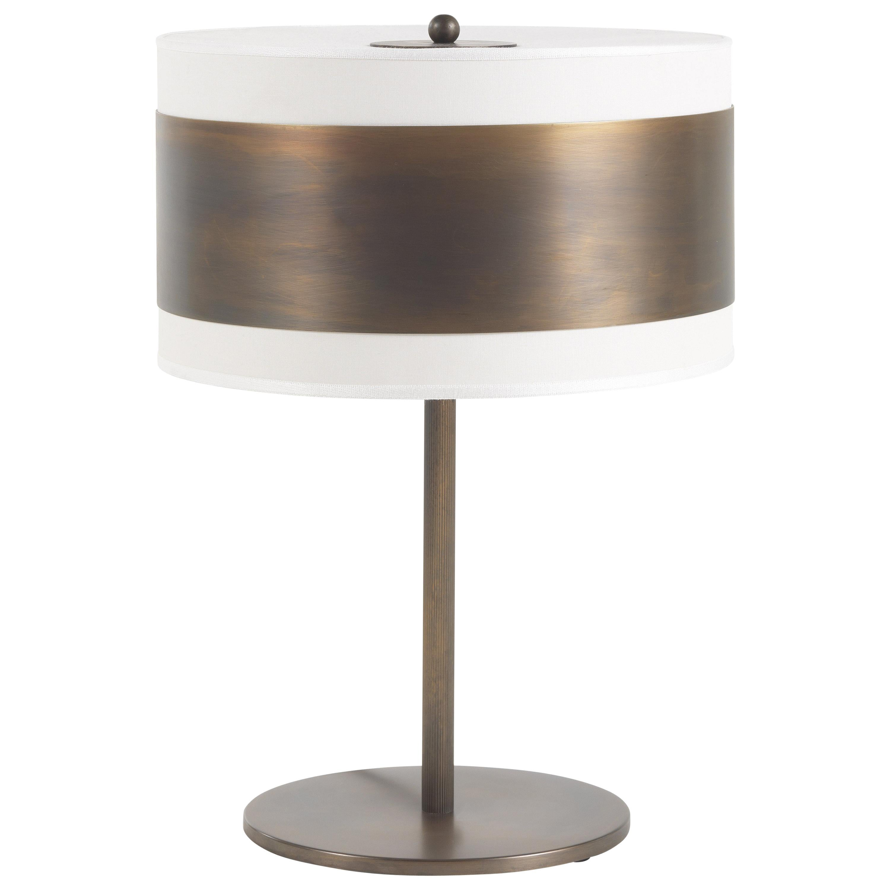 Gianfranco Ferré Home Sally Table Lamp in Brass