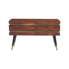 Gianfranco Ferré Home Sean Chest of Drawers in rosewood