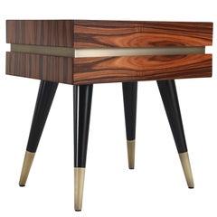 Gianfranco Ferré Sean Night Tables in Wood