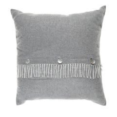 Gianfranco Ferré Home Sindia Grey Cushion in Cashmere