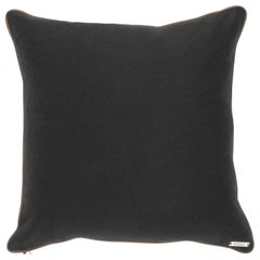 Gianfranco Ferré Home Tessa Black Cushion in Cashmere