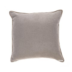 Gianfranco Ferré Tessa Pillow in Beige Cashmere