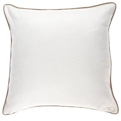 Gianfranco Ferré Home Tessa White Cushion in Cashmere