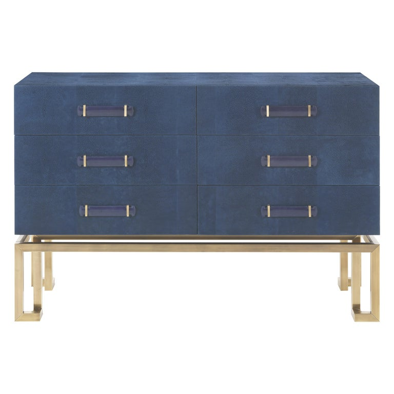 Gianfranco Ferré Trafalgar Chest of Drawers in Metal and Poplar For Sale