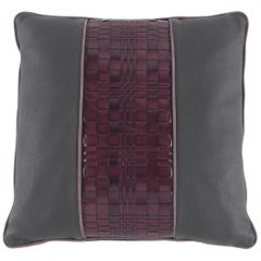 Gianfranco Ferré Home Tribeca_2 Cushion in Leather