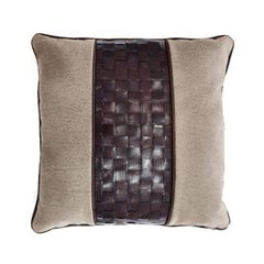 Gianfranco Ferré Home Tribeca_5 Cushion in Leather
