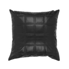 Gianfranco Ferré Trix Pillow in Black Leather