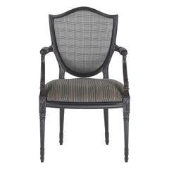 Gianfranco Ferré Home Victoria chair with arms in Fabric