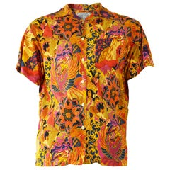 Gianfranco Ferre Vintage Men's Bold Print Shirt