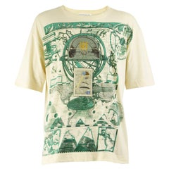 Gianfranco Ferre Vintage Mens Embroidered T-shirt