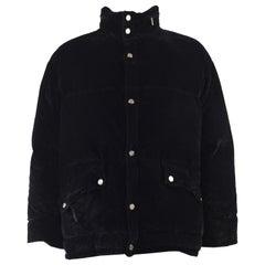 Gianfranco Ferre Vintage Mens Velvet Puffer Jacket