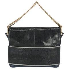 Gianfranco Ferre Woman Handbag Navy Leather