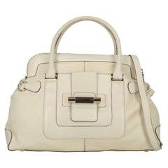 Gianfranco Ferre Woman Shoulder bag Ecru Leather